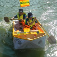 Cardboard Boat Race Thailand Adventures