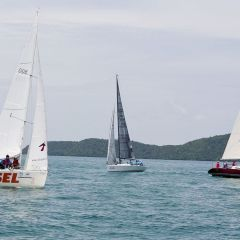 Flotilla Sailing Learn to Sail in Thailand