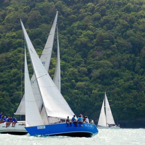 Sail in Asia yacht training, Thailand