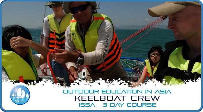 Keelboat-Crew