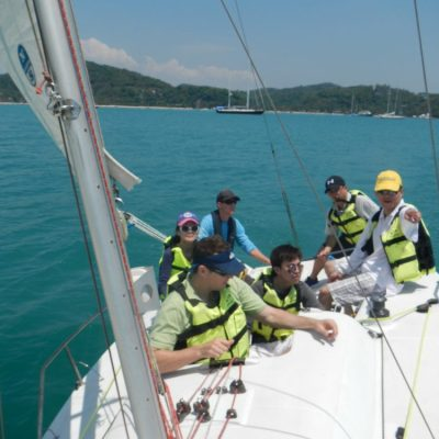 Keelboat Mate Learn to Sail in Thailand