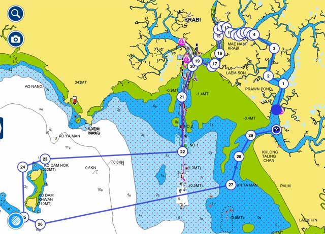Krabi River Coastal Route