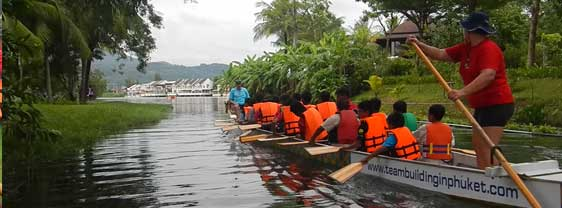 Rivertrip Dragonboat Adventures in Thailand