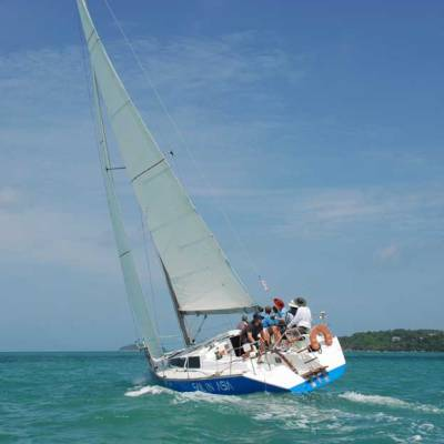 Powering to Windward, Sail in Asia