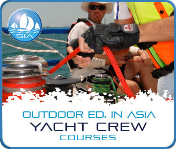 International yacht crew courses with Sail in Asia
