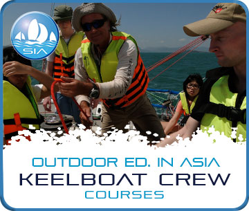 Keelboat crew courses with Sail in Asia