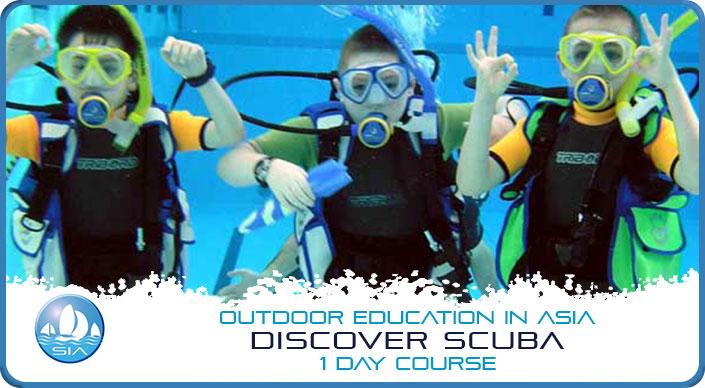 Discover scuba 1 day course