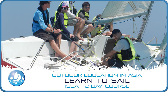 Learn to sail ISSA 2 day course