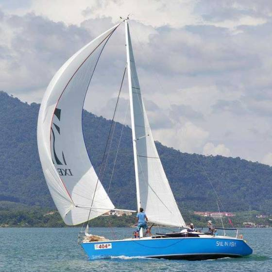 Piccolo sailing yacht, Sail in Asia