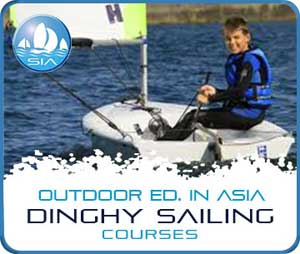 Dinghy sailing courses with Sail in Asia