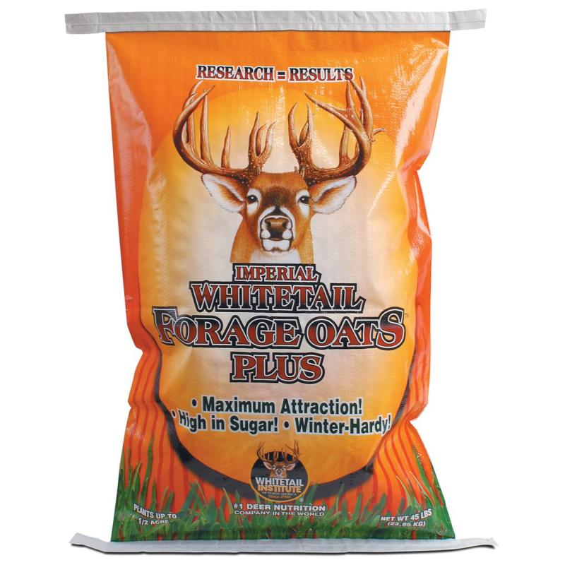 Whitetail Institute Imperial Forage Oats Plus