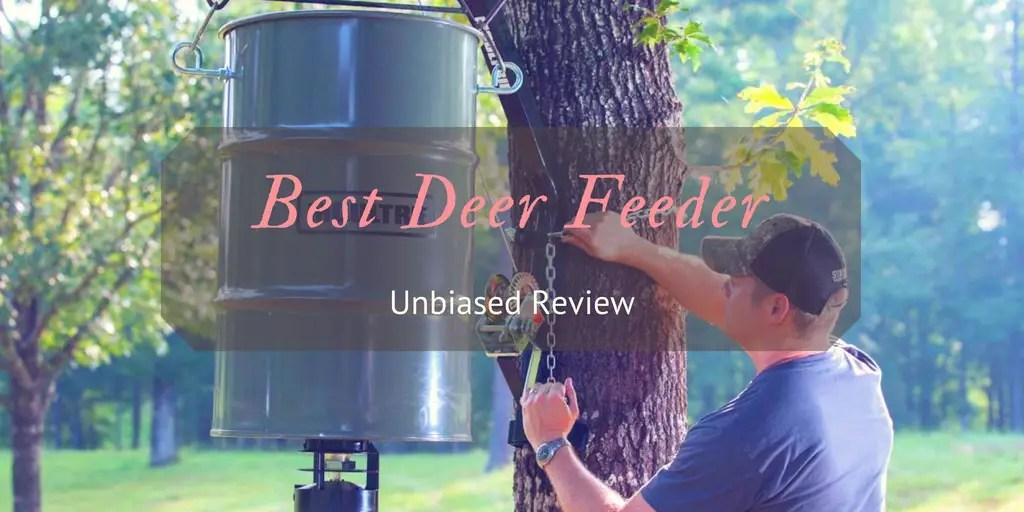 Best Deer Feeder Reviews Top 9 Picks Of 2018 And How To Buy