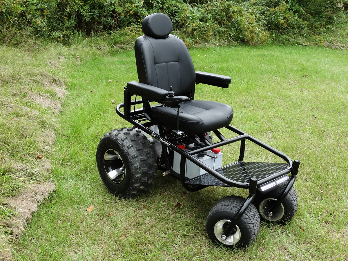 all terrain electric wheelchair cheap bouncy chairs for babies outdoor extreme mobility powered a new