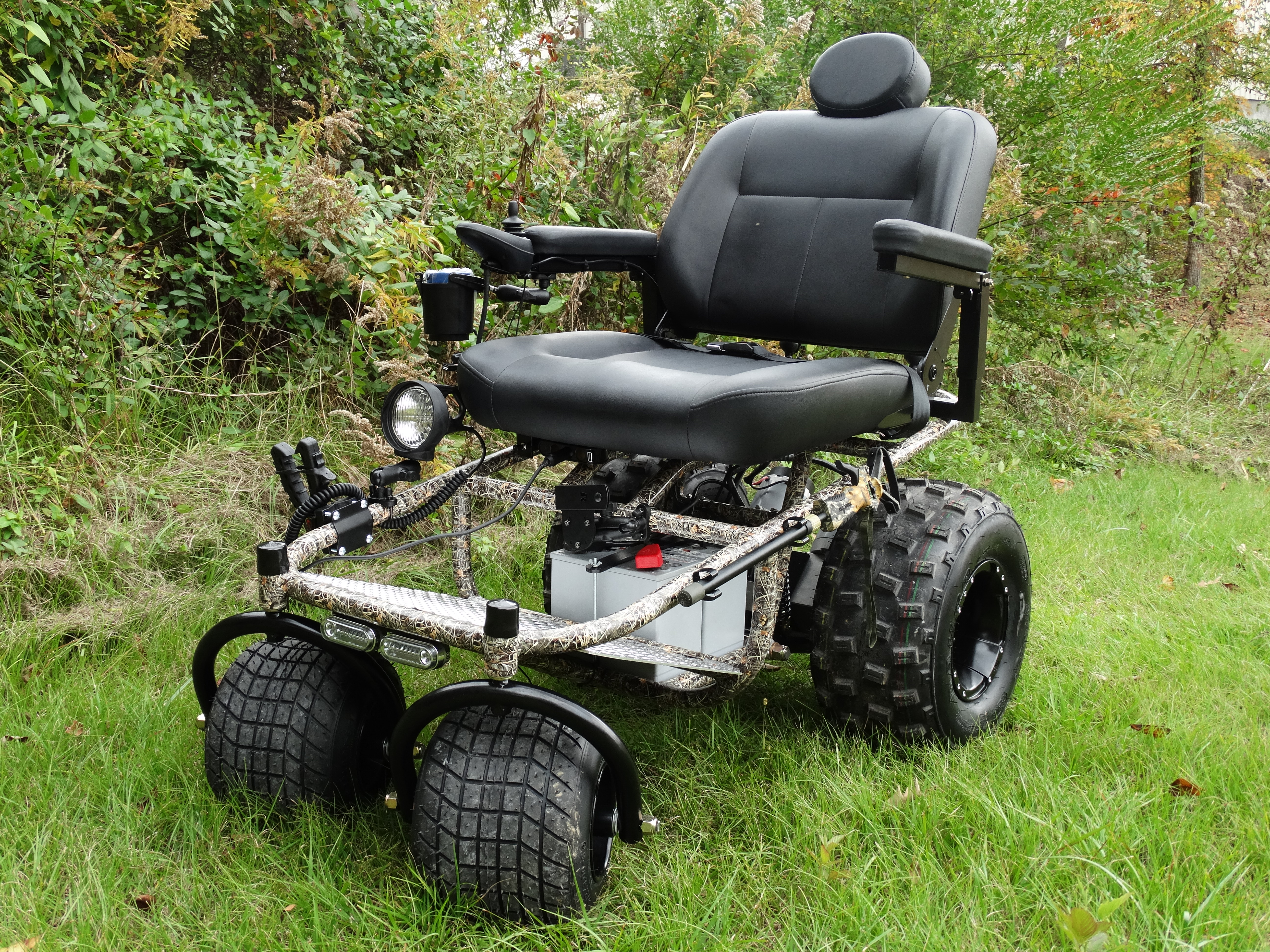 Power Chairs And Scooters Outdoor Extreme Mobility Powered Wheelchair A New