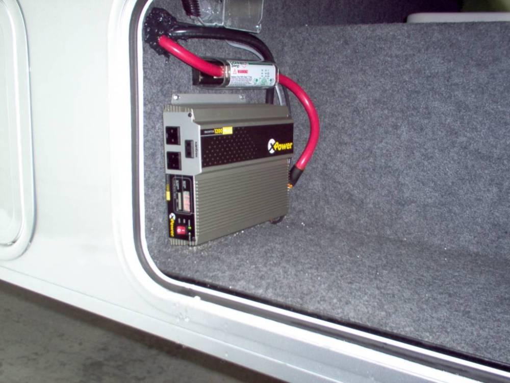 medium resolution of an inverter will convert the power output