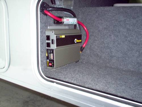 small resolution of an inverter will convert the power output