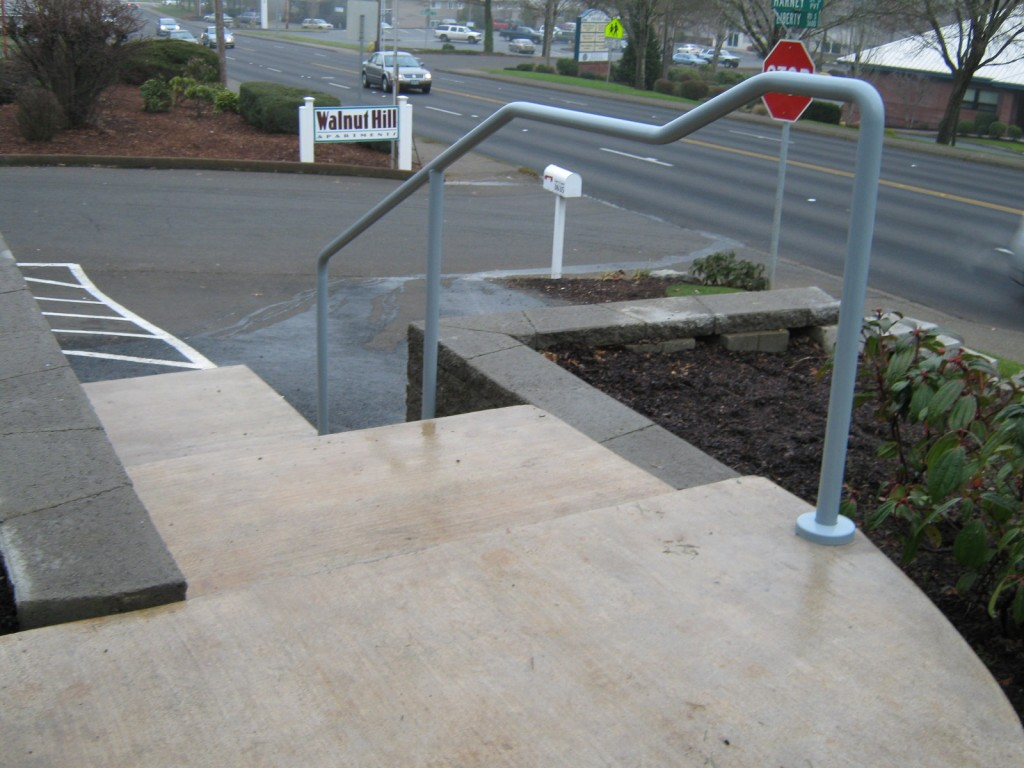 Commercial Railing  Salem, Mcminnville  Outdoor Fence