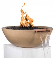 "27"" Pool Fire & Water Bowl Sedona - Bowls"