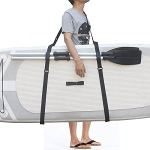 Improved SUP Stand up Paddle Board Surfboard Carrier Shoulder Strap Sling-No Board! Easy to Carry Your Board to The Beach!