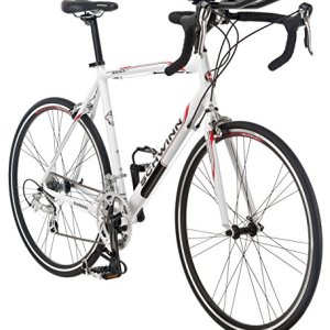 Schwinn Men's Axios TT 700c Drop Bar Triathlon Road Bicycle, White, 18-Inch Frame