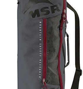 MSR Snowshoe Bag Gray, Tote Bag for Carrying, Packing and Storing Snowshoes, Fits Snowshoes Up to 25-Inches