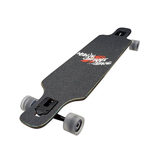 Backfire Drop Through Longboard Complete Lightweight 39 8.625inch Professional longboards Backfire Longboard size:39x8.625 Inch; 8 employ Canadian Maple deck with 3 colored layer