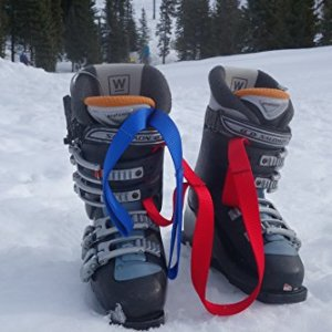 Gear Ski Boot and Snowboard Boot Carrier Straps