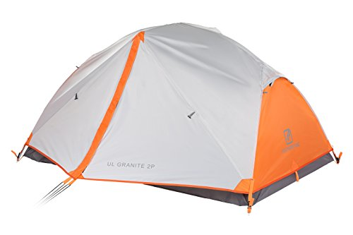2-PERSON: This hiking tent is sufficiently roomy to oblige up to two individuals, ideal for couples. Helpfully worked with two entryways and two vestibules that give extraordinary measure of storage room for your outdoors gear. WEATHER PROTECTED: Seam Taped Construction makes an impervious hindrance against Rain and avoids spillage. Bath Floor Design raises the base of the tent to shield you from wet grounds. EASY TO SET UP & FREESTANDING: Single Aluminum shaft structure makes the tent simple to set up and pack into one's rucksack. Detached enables the tent to be moved and migrated without having to disassemble.