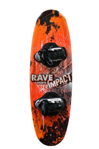 RAVE Sports Rave Jr. Impact Wakeboard with Charger Bindings - 122 cm.