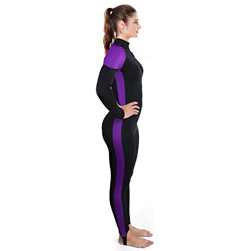 Womens Wetsuit - Lycra Full Body Diving Suit   Sports Skins for Running 5c70f6404