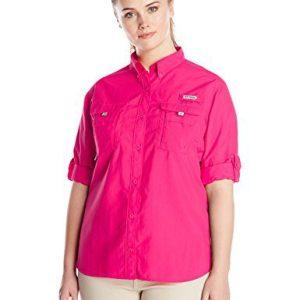 Columbia Sportswear Women's Plus-Size Bahama Long Sleeve Shirt