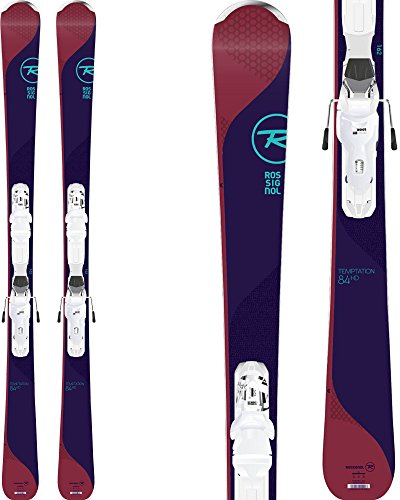 Rossignol Temptation 84 HD Womens Skis with Xpress 11 Bindings