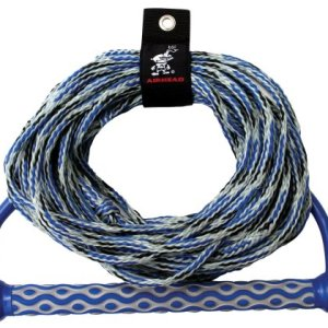 """Airhead Wakeboard Rope, 15"""" EVA Handle, 3 section"""