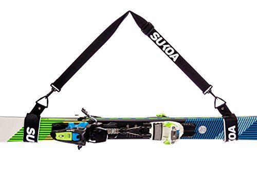 Ski Shoulder Sling with Cushioned Velcro Holder