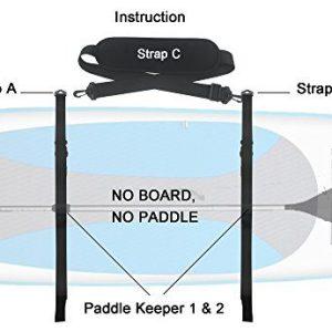YYST SUP Paddleboard Carrier SUP Shoulder Strap SUP Board Carrier - No Board No Paddle