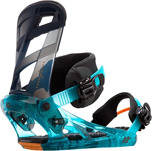 K2 SNOWBOARD BINDINGS HURRITHANE Features: Chassis: Pro-Fusion PC, Highback: Tweekbackª FS, Ankle lash: Custom Caddi, Strap Features: Hinge Mount & Cam-Lock Centering, Toe Strap: Tool-Less Universal, Ratchet: Mega RADchet with Easy Feed Housing, Disk: NEW! All inclusive circle, Footbed: Canted Seamless EVA, Tool-Less Adjust Power Ramp