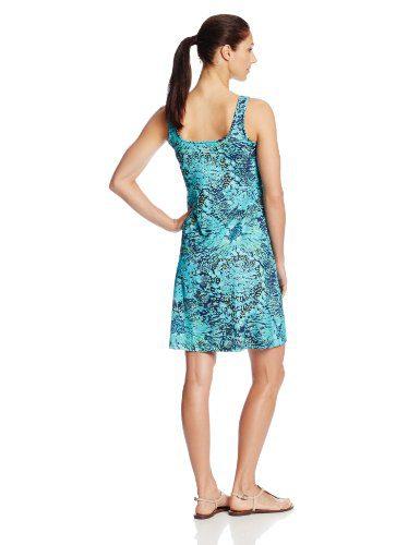 Columbia Sportswear Women's Freezer III Dress Sporty sleeveless tank dress including scoop neck and realm abdomen seaming  Reflective logo at back
