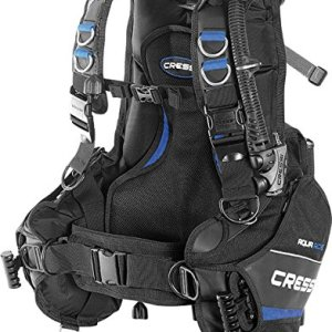 Cressi Aquaride Pro BCD, Fully Accessorized Scuba Diving Buoyancy Compensator