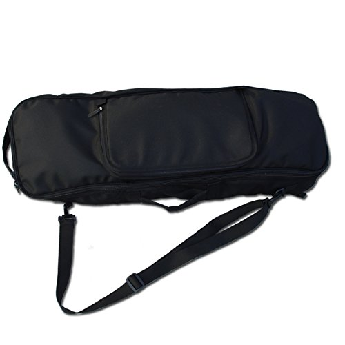 OS Company Skateboard Bag Backpack Travel Bag Black Color long board carver board carrying backpack measurements : 33.46 x 11.8 inch (85 x 30 cm)/2.20 pounds  Outside Central to the pack Big pockets (13.8 inch x 9.84 inch) , profundity (1.96 inch)  Skateboard , Carver board , Various things , convey pack , Good Quality  Side holds & top grasps , Inside the pack skateboard settling straps.