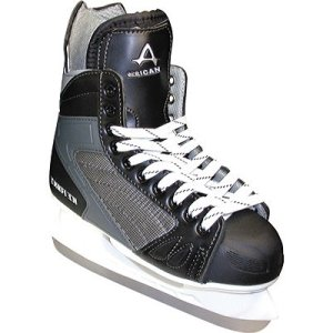 American Athletic Shoe Boy's Ice Force Hockey Skates