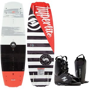Hyperlite Franchise Wakeboard + Frequency Bindings Mens One Size 8-12