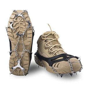EnergeticSky Upgraded Version Of Walk Traction Ice Cleat Spikes Crampons
