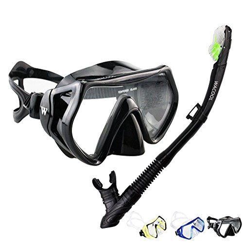 Anti-Fog Coated Glass Diving Mask