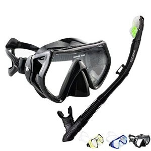 Anti-Fog Coated Glass Diving Mask