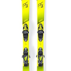 Fischer RC4 Race Jr. Skis + FJ AC Bindings - 2018