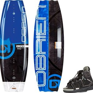 O'Brien System Wakeboard with Clutch 8-11 Bindings, 140cm