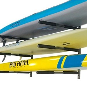 StoreYourBoard SUP Rack | 3 Paddleboard Wall Storage