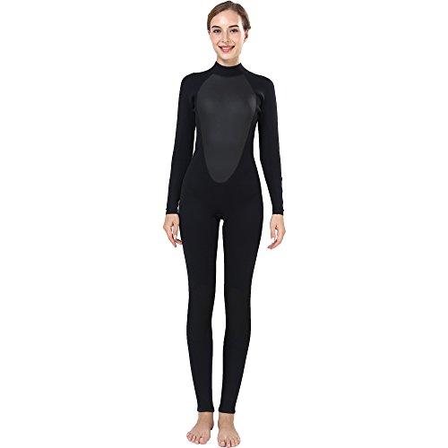 Realon Wetsuit Women 3mm Full Surfing Suit Scuba Diving Snorkeling Swimming Jumpsuit