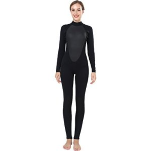 Realon Wetsuit Women 3mm Full Surfing Suit Scuba Diving Snorkeling Swimming Jumpsuit