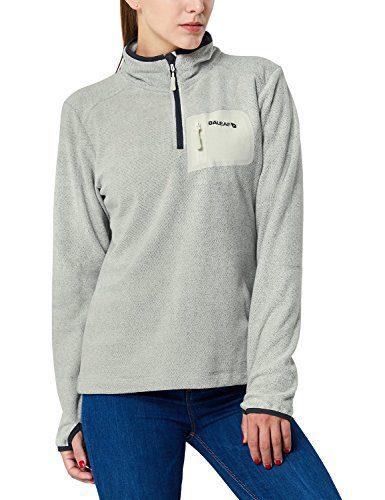 Baleaf Women's Mid-Weight Fleece Jacket Pullover Sport Sweater Sweatshirt Zip Pocket